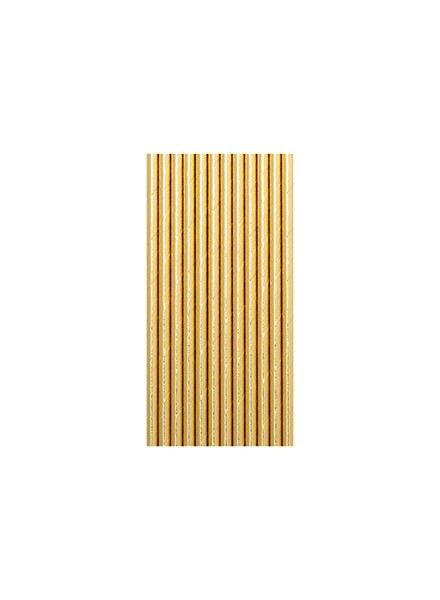 cannucce-oro-metal-12pz